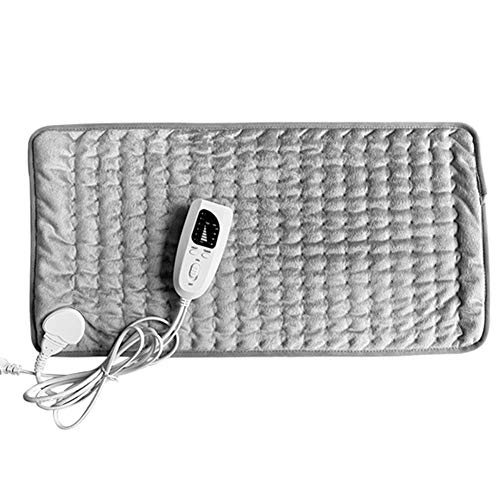 Melo-bell Heating Pad Electric Heating Down Blanket Extra Large 6-Speed Temperature Adjustment Function (12x 24 in)