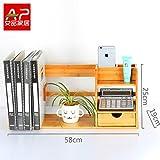 Desktop Bookshelf, Shelf, Storage Box, Simple Desk, Small Bookshelf, Creative Student Desk, Admission Rack,58