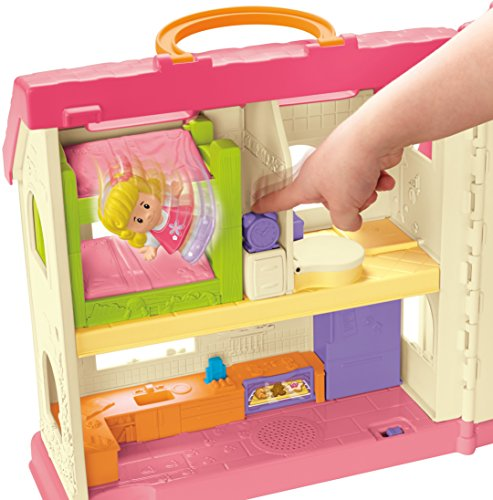 51zYI1FW8rL - Fisher-Price Little People Surprise & Sounds Home Playset