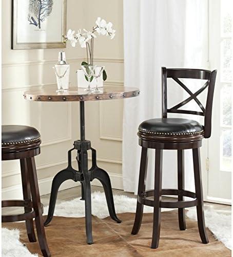 Safavieh Home Collection Butler Cappuccino 29-inch Bar Stool