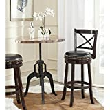 Safavieh Home Collection Butler Cappuccino 29-inch Bar Stool Review