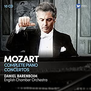 Mozart: The Complete Piano Concertos (10CD)