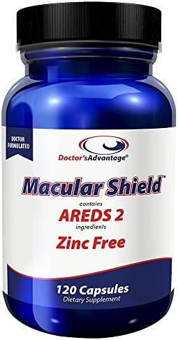 Doctor s Advantage Products Macular Shield Areds 2 Zinc Free, 120 Count
