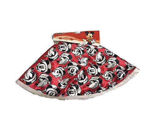 Quan S Cabinet Disney Mickey Mouse Christmas Tree Skirt 16 Inches