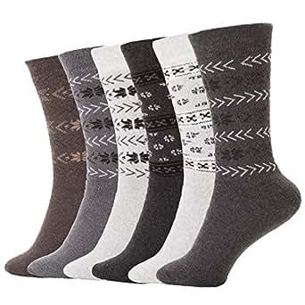 Amazon.com: Brubaker Winter Socks For Men or Women Wool