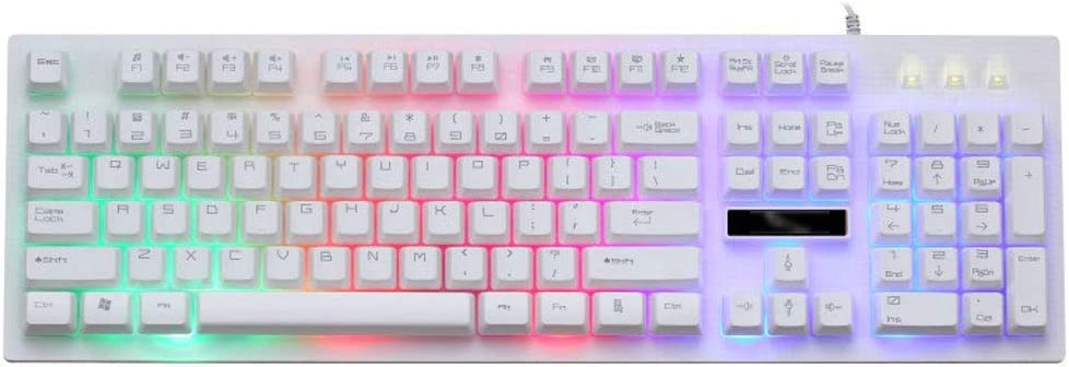 Rainbow LED Teclado retroiluminado Ordenador PC Mac Ordenador ...