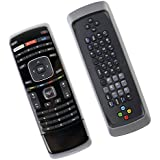 New Replace XRT301 Remote Control with Dual Side Keyboard QWERTY Fit for Vizio 3D TV E3D320VX D500I-B1 D650I-B2 E231I-B1 M320SR M420SR M470NV M550NV M470VSE M650VSE M550VSE M3D460SR