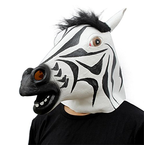 Big Mango Deluxe Novelty Halloween Costume Party Latex Animal Head Mask for Adults&Children ()