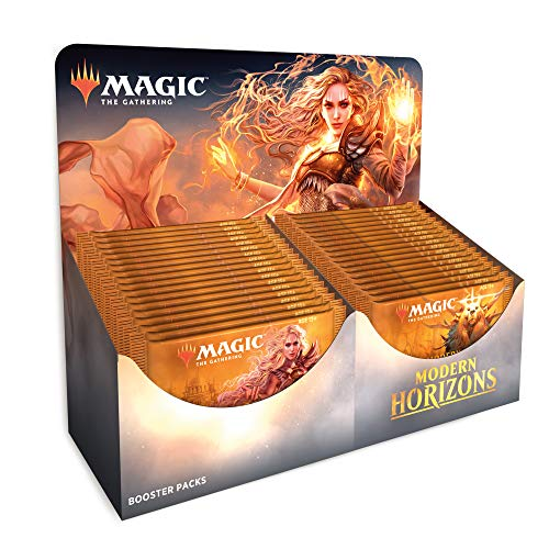 - Magic The Gathering Modern Horizons Booster Box | 36 Booster Packs | Factory Sealed