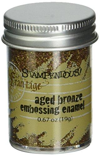 (STAMPENDOUS Aged Embossing Enamel-Bronze)