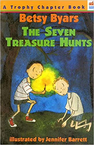 9528bd998fab Amazon.com  The Seven Treasure Hunts (Trophy Chapter Books (Paperback))  (9780064404358)  Betsy Byars