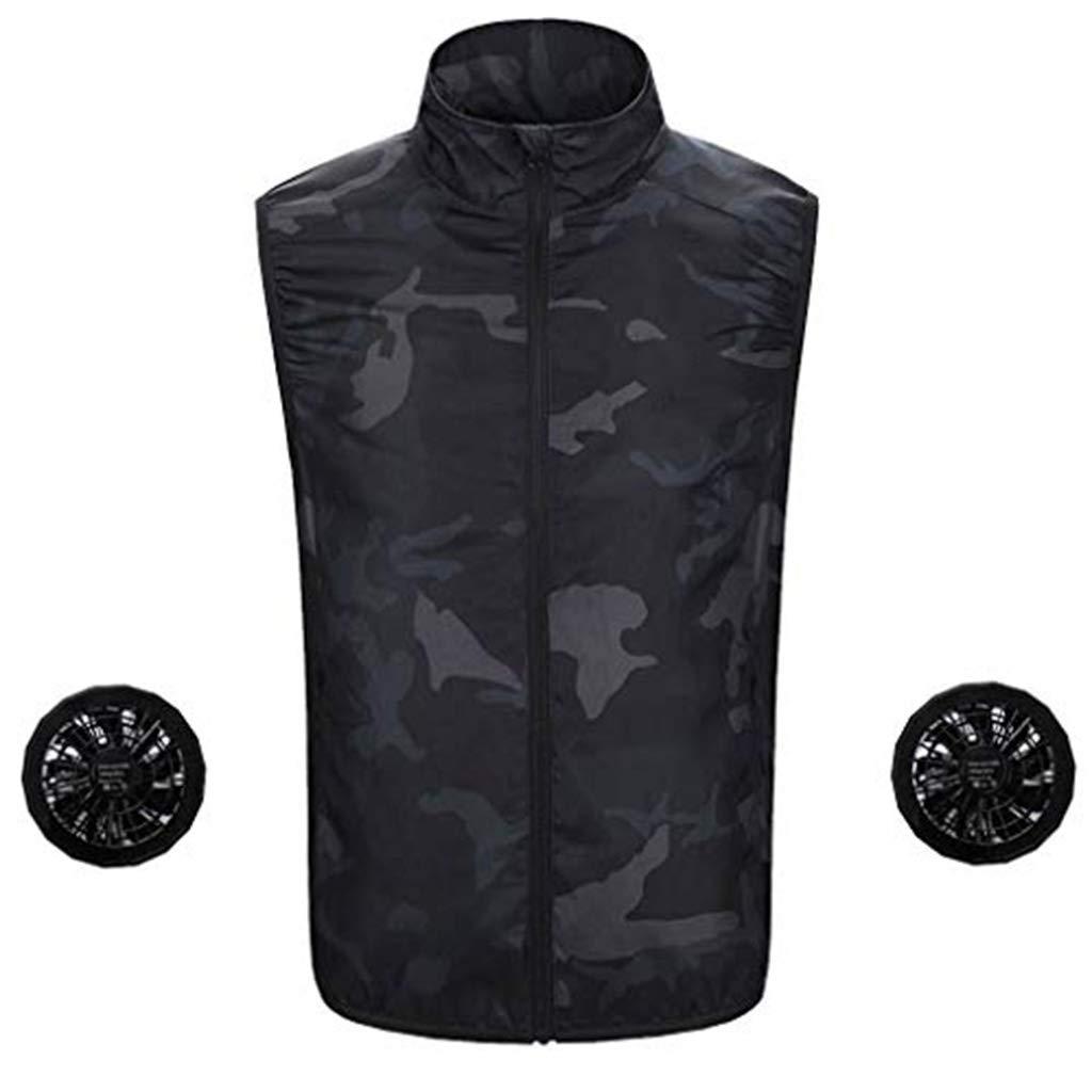 ✿HebeTop✿ Fashion Zip Hoodie Conditioning Heatstroke Jacket Outdoor Working Tops Camouflage
