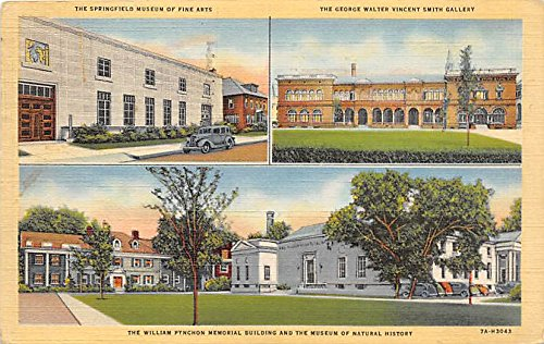 The William Pynchon Memorial Building & the Museum of Natural History Springfield Massachusetts Postcard ()