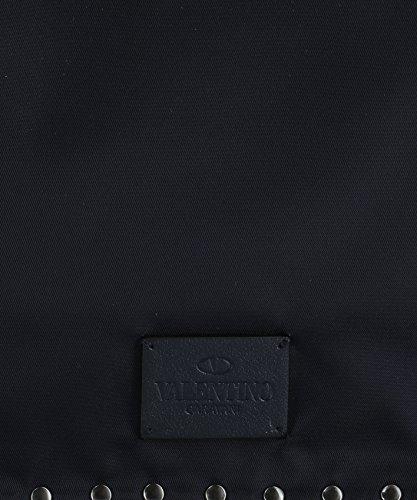 Valentino Pochette Uomo NY2P0565N0VM30 Tessuto Blu