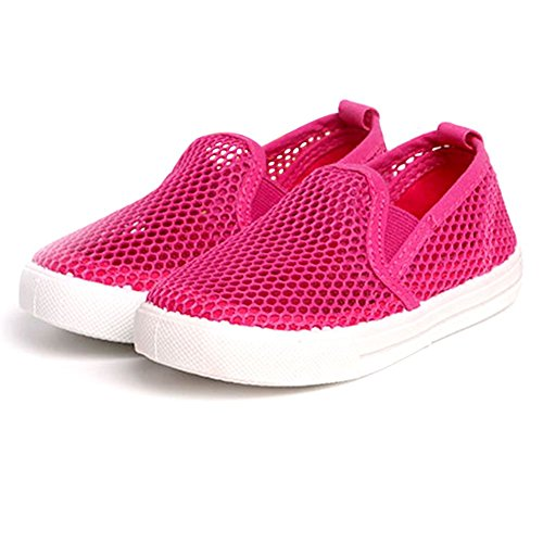 08. LIVEBOX Breathable Mesh Soft Rubber Sole Summer Sneaker Toddler Beach Shoes for Baby Girls and Boys