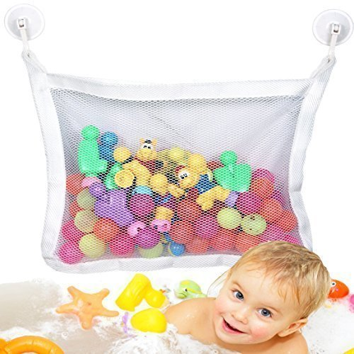 baby bath toy organizer bathtub toys storage with extra strong suction cups 4 cups buy. Black Bedroom Furniture Sets. Home Design Ideas