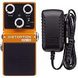 Valeton Loft DS-10 Distortion Pedal Includes Valeton 9V DC 1 Amp Power Supply