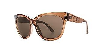 c7342a9debb Electric Danger Cat Women s Sunglasses Gloss Mono Bronze with OHM Bronze  Polarized Lens at Amazon Women s Clothing store