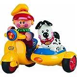 Tolo - 89587 - Scooter avec personnages indépendants (fille et chien)
