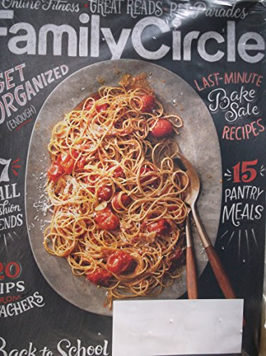 Family Circle September 2017 Bake Sale Recipes ()