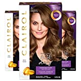Clairol Age Defy Permanent Hair Color, 6 Light Brown, 3 Count