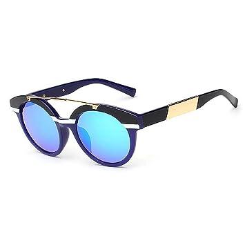 Y-WEIFENG Lentes Gafas de Sol Unisex de Montura Completa con ...