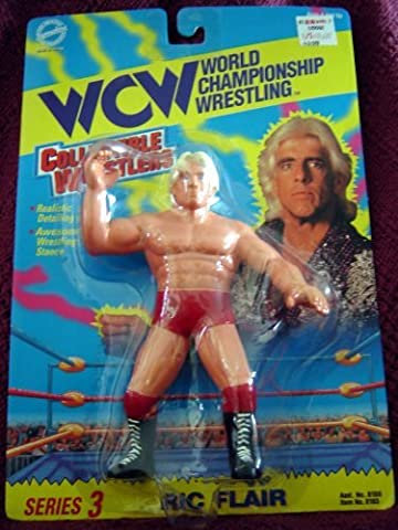 WCW Rick Flair Wrestling Action Figure Series 3 WWF WWE (San Francisco Slaughter)