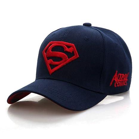 SKAMAO Gorra De Beisbol Superman Cap Superman Gorra De Béisbol ...