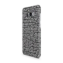No Sleep Podcast Pattern Durable Hard Plastic Protective Phone Case Cover For Samsung Galaxy S8 Plus