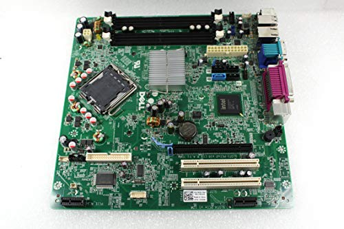 (Genuine Dell Intel Q45 Express LGA775 Socket Motherboard For Optiplex 960 Small Mini Tower (SMT) System Part Number: Y958C, H634K)