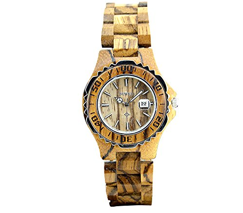 Women Wooden Quartz Watch
