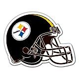 NFL Pittsburgh Steelers 12-Inch Vinyl Helmet Magnet