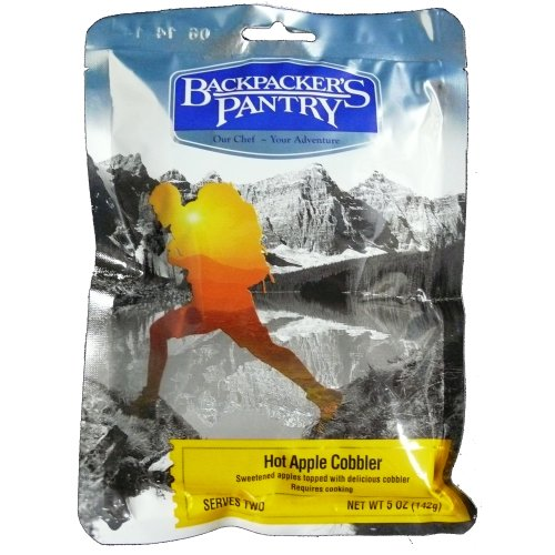 - Backpacker's Pantry Hot Apple Cobbler 2 Person