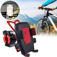 TEAMYO Support de téléphone Portable à Verrouillage Automatique pour vélo Support de Navigation de Voiture pivotant à 360 degrés