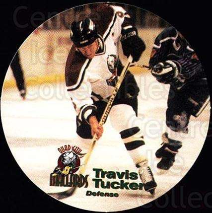 (CI) Travis Tucker Hockey Card 1996-97 Quad City Mallards, used for sale  Delivered anywhere in USA