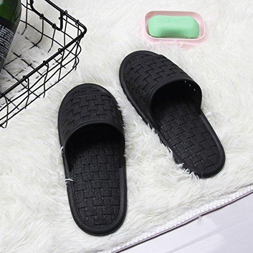 da plastica di antiscivolo ciabatte estate femmina Coppie Nero fankou bagno bagno cool home pantofole in zHxSXn5q