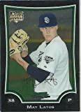 Mat Latos 2009 BOWMAN CHROME DRAFT #BDP18 RC San Diego Padres