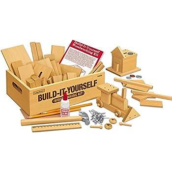 Amazon woodshop diy wood model kits fighter plane race car lakeshore build it yourself woodworking kit solutioingenieria Images