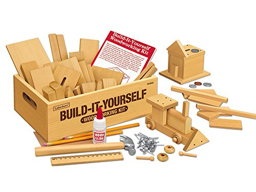 Lakeshore Build-It-Yourself Woodworking Kit (Wood Building Boys Kits)