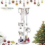 Keebofly Jewelry Tree Stand Organizer - Metal