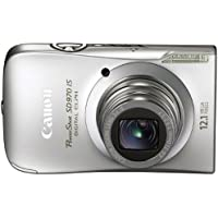 Canon PowerShot SD970IS 12.1 MP Digital Camera with 5x Optical Zoom and 3.0-inch LCD (Silver) Explained Review Image