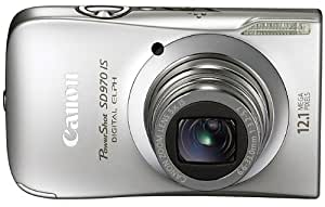 Canon PowerShot SD970IS 12.1 MP Digital Camera with 5x Optical Zoom and 3.0-inch LCD (Silver)