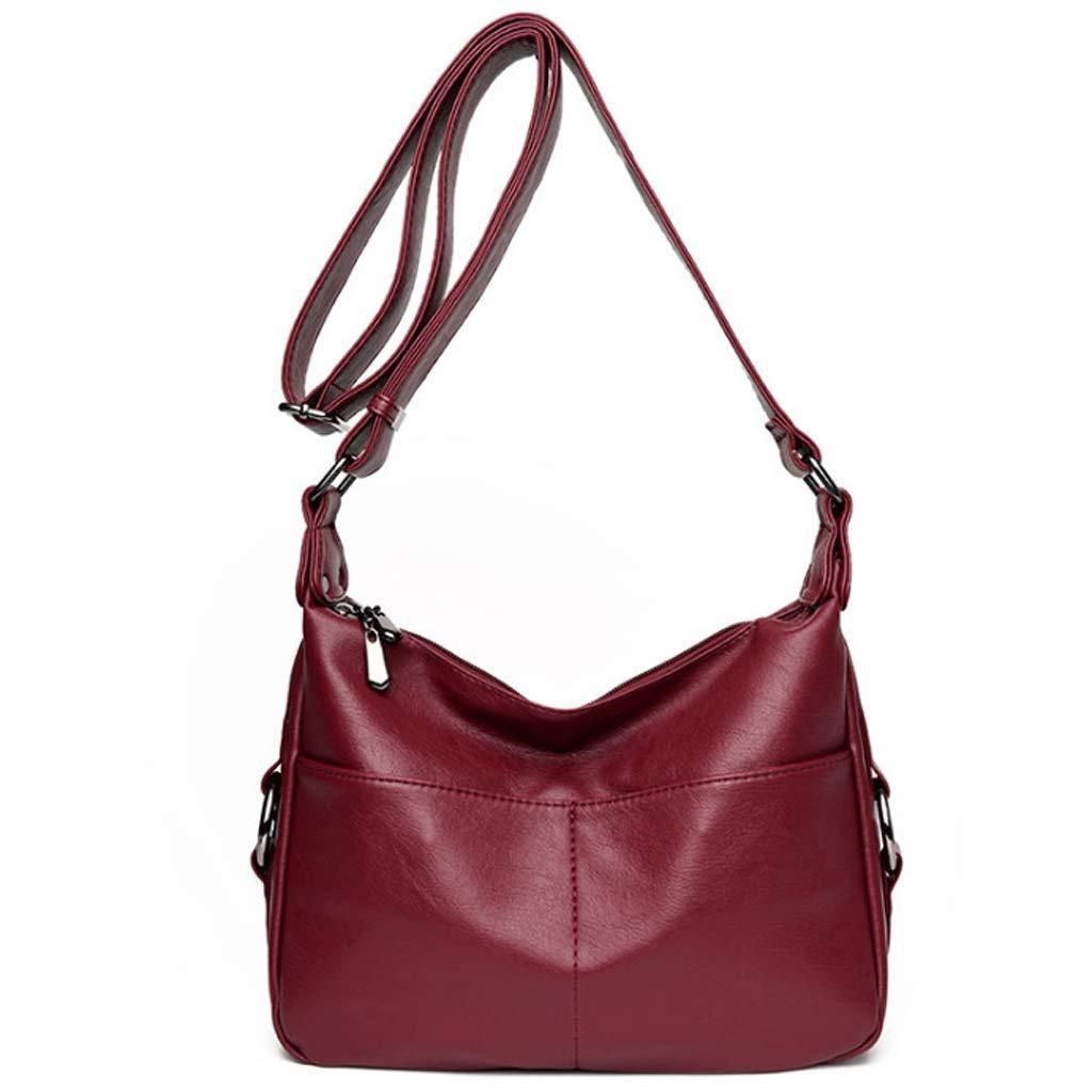 GuoFeng Lady Bags Frauenhandtasche Frauenhandtasche Frauenhandtasche Gewaschen Haut Mutter Mutter Umhängetasche aus Weichem Leder Diagonal Paket (Farbe   1 , größe   S) B07GX3RCK1 Schultertaschen Moderner Modus e61199