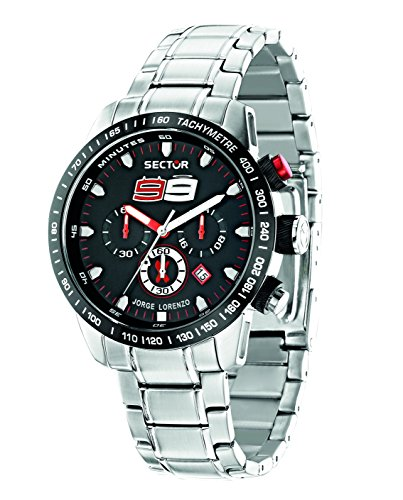 Sector Men's R3273975003 Racing Analog Display Quartz Silver Watch