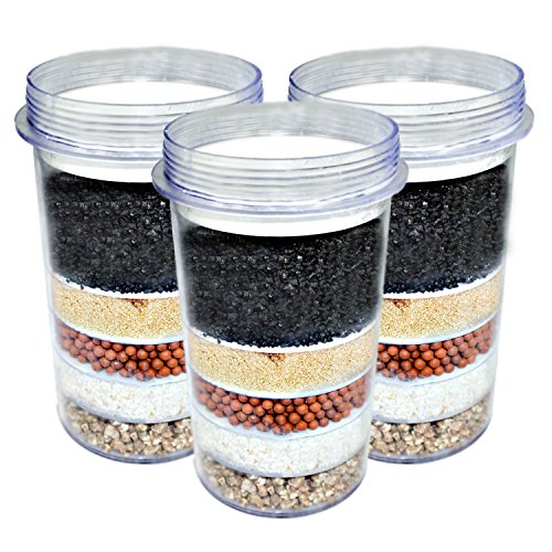 Price comparison product image 3-PACK of 5-Stage Replacement Mineral Filter Cartridge for Zen Countertop & Water Cooler Filtration Systems