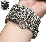 Phoenix outdoor full steel self defense hand bracelet chain (Color B)