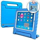 Cooper Dynamo [RUGGED KIDS CASE] Protective Case for iPad 4, iPad 3, iPad 2 | Child Proof Cover with Stand, Handle | A1458 A1459 A1460 A1674 (Blue)