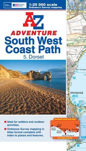 SW Coast Path Dorset Adventure Atlas A-Z Adventure Atlas: Amazon.es: Geographers A-Z Map Company: Libros en idiomas extranjeros
