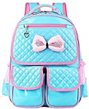 Best Vere Gloria Travel Daypacks - Cute Lace Bowknot Style PU Leather Princess School Review