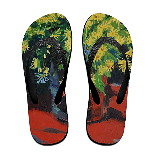 Slippers PTJHKET Flops Oil Flip Women Flowers Kids Men Painting for CPqfXRqwx